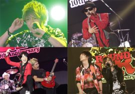FLOW、宮野真守、BREAKERZらも参戦の「GRANRODEO 10th ANNIVERSARY FES ROUND GR 2015」レポ